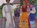 Іван Гончар. Парубок, дівчина і молодиця