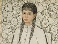 Григорій Синиця. Портрет дівчини