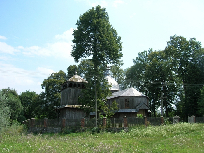 Церква у с.Дахнів, нині Польща. Фото 2010-х рр.