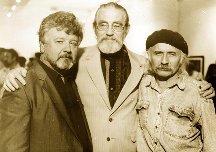 Микола Компанець, Георгій Якутович, Володимир Юрчишин. Кін.1980-х – поч.1990-х